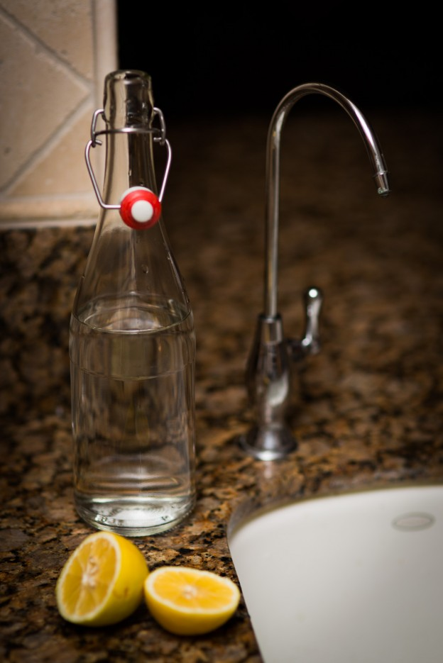 Glass bottle Water Filter